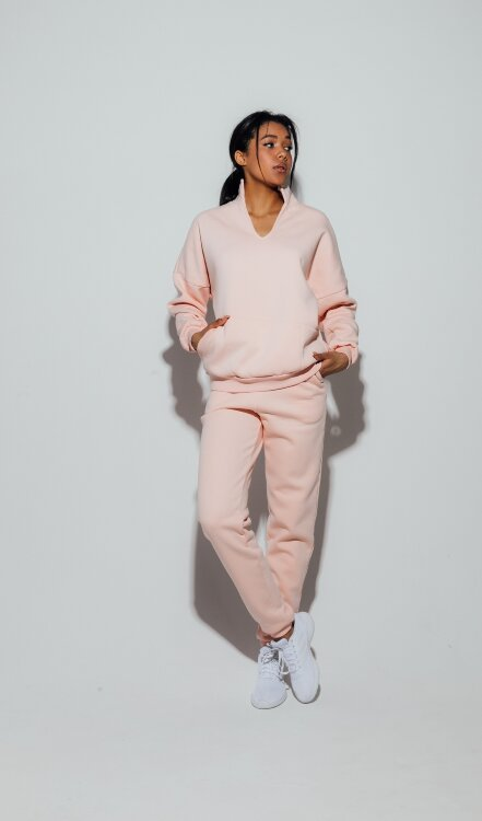 Брюки Basic Cotton Fleece Peach