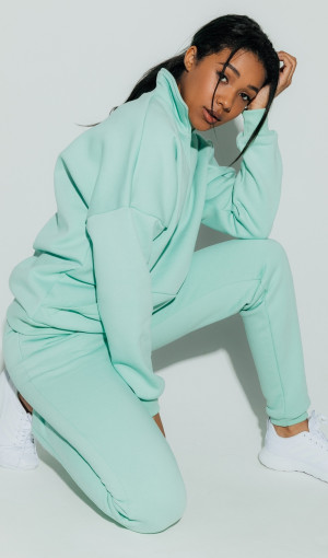 Брюки Basic Cotton Fleece Mint