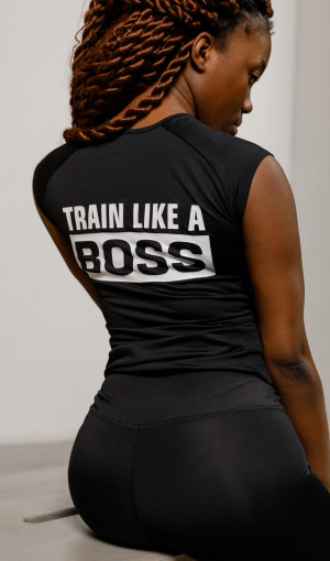 Футболка TRAIN LIKE A BOSS