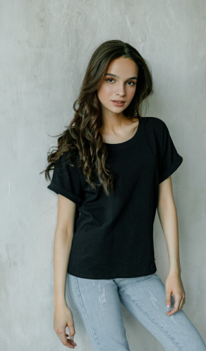 Футболка Basic Cotton Black