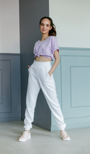 Футболка Basic Cotton Lila