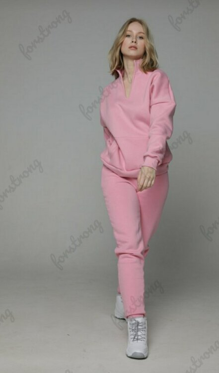 Брюки Basic Cotton fleece Pink